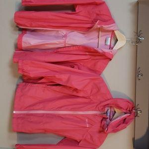 Girls-Columbia Rain Coat- Size Medium 10/12